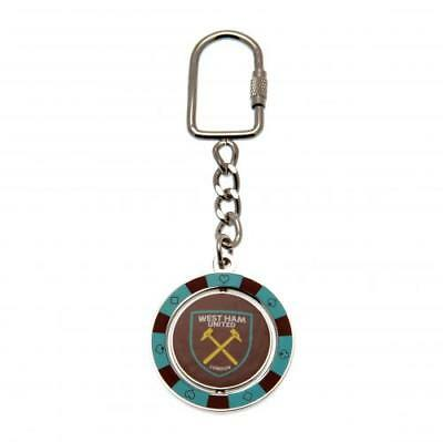 West Ham United FC Spinner Keyring PC Football Club Fan Player Supporter PRESENT