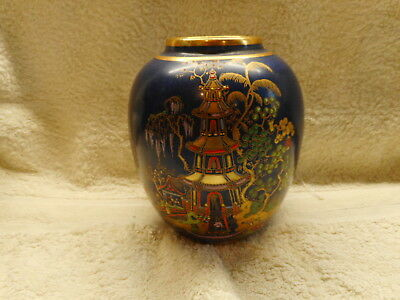 Carlton Ware Oriental Decorated Vase Circa 1894 - 1927