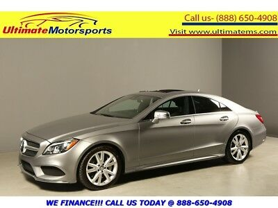 CLS-Class 2015 CLS550 NAV SUNROOF LEATHER BLINDSPOT DRVER AS 2015 MERCEDES-BENZ CLS550 NAV SUNROOF LEATHER BLIND LANE COLLISION SPORT SILVER