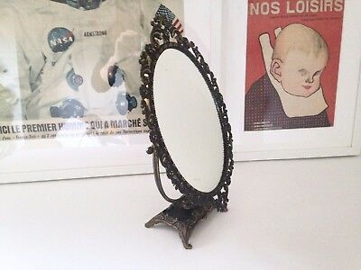 Rare miroir de table kristiansson eur 1 00 picclick fr for Grand miroir ancien