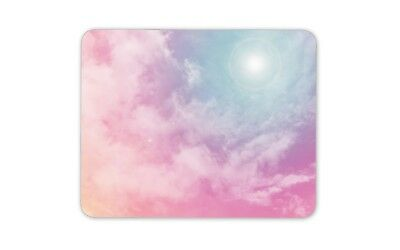 Beautiful Pink Clouds Mouse Mat Pad - Sister Mum Daughter Gift PC Computer #8727