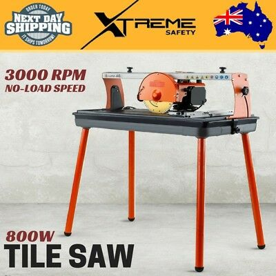 New 800W Tile Saw Wet Cutting Table Bridge Cutter Ceramic Porcelain BAUMR-AG
