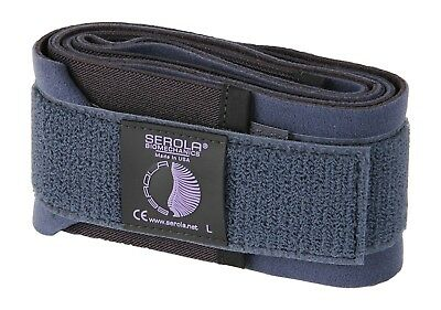 Serola Sacroiliac Back Support Belt, Large, (102cm - 117cm)