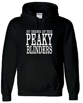 By Order of the Peaky Blinders Hoodie Shelby Brothers Pullover  *BEST QAUALITY*