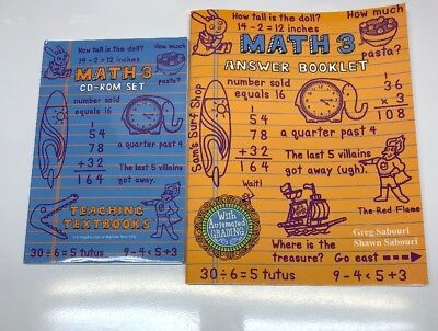TEACHING TEXTBOOKS MATH 3 (2 0 Version) Cds & Answer Booklet