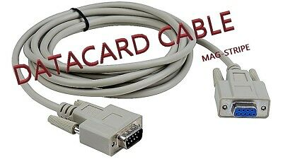 DATACARD 150i Null Serial Data Communication Cable (Male/Female) 806771-001