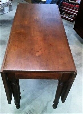 REDUCED - Antique (19th century) drop-leaf, gate-leg table