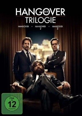 Hangover Trilogy [DE-Version, Regio 2/B] - Warner Bros. Entertainment DVD NEW