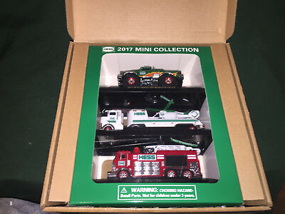 2017 Hess Mini Collection, Brand New In Box ,shipped Free Priority, Collectible