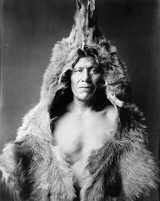 New 11x14 Native American Photo: Bear's Belly, Arikara Indian of North America