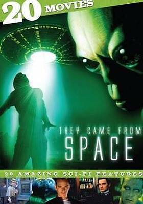 NEW They Came from Space: 20 Movies (DVD, 2013, 4-Disc Set)