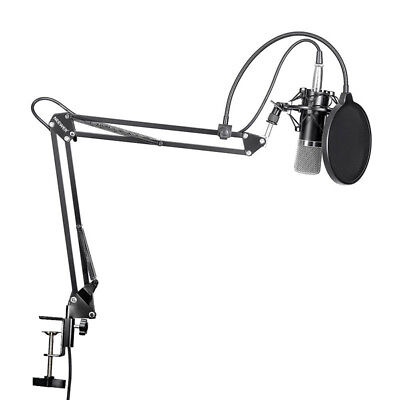 Neewer NW-700 Microphone + NB-35 Scissor Arm Stand + Shock Mount + Mask Shield