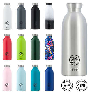 24 BOTTLES Thermosflasche CLIMA Edelstahl NEU/OVP Thermo Trinkflasche BPA-frei