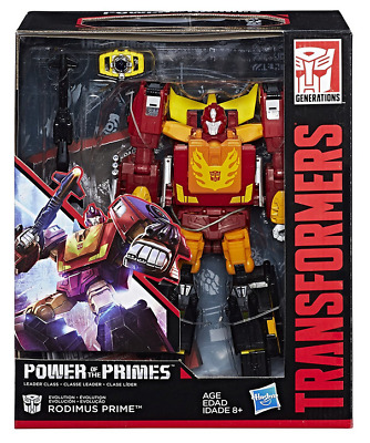 Transformers Power Of The Primes Leader Class Autobot Rodimus Prime