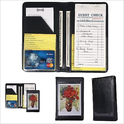 Waiter Book Server Wallet Pads Waitress Book Restaurant Waitstaff Organizer Pad