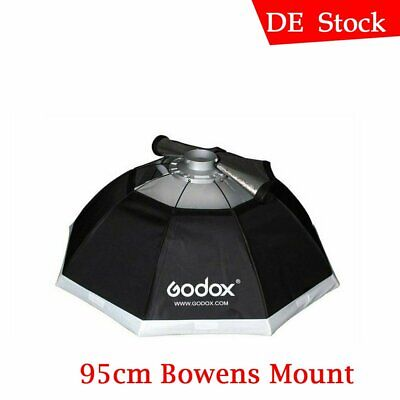 "Godox Octagon Softbox 95cm 37"" Bowens Mount for Studio Strobe Flash Monolight"