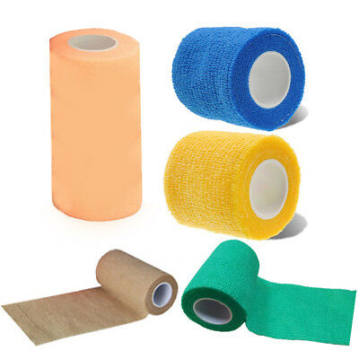 Medical Treatment Self-Adhesive Elastic Bandage Gauze Tape Elastic First Aid