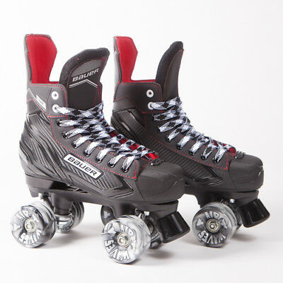 Bauer Quad Roller Skates - NS - 2018 Model - Conversion - Airwaves