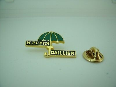 Rare Pin's Pin Pins Badge H. PEPIN Pépin JOAILLIER / JEWELLER TOP !
