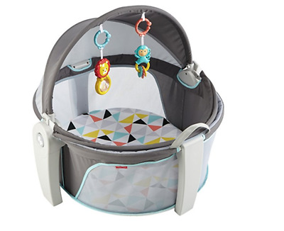 Fisher Price Dome Baby Bed Canopy Sun Shield For Kids Cozy Cover Bug Out Screen!