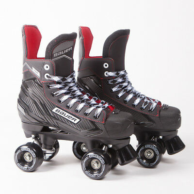 Bauer Quad Roller Skates - NS - 2018 Model - Sure-Grip Aerobics