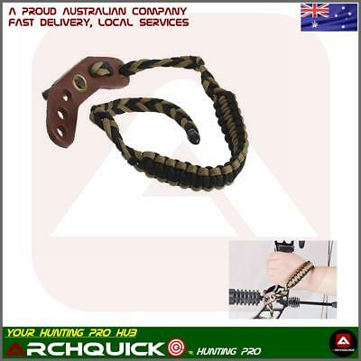 Braided Adjustable Bow Wrist Sling For Compound Bows And Archery