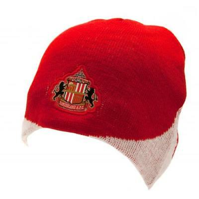 Sunderland FC Knitted Hat WN Football Club Fan Supporter Birthday PRESENT  GIFT 31145ff946f