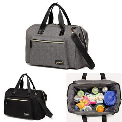 AU POST Large Mummy Diaper Bag Nappy Baby Bottle Handbag Shoulder Crossbody Bags