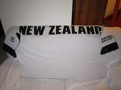 New Zealand 2010 Soccer World Cup Scarve Scarf