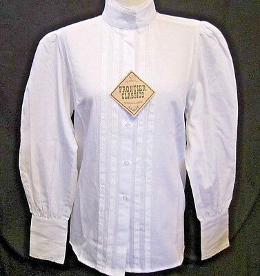 WOMANS WESTERN THEMED VICTORIAN BLOUSE by FRONTIER CLASSICS Size XL