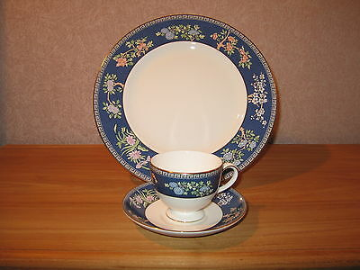 Wedgwood *NEW* Blue Siam 501299 Set 1 Assiette + 1 Tasse 1 Plate + 1 Cup