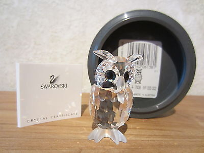 SWAROVSKI *NEW* Oiseau de nuit Night Owl 206138 H.4,9cm