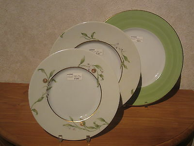PHILIPPE DESHOULIERES *NEW* ORANGERAIE 6905 Set 3 Assiettes