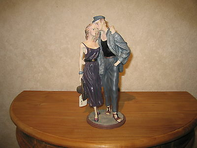 *NEW* Posture Figurine Couple H.30cm Décor Elisa