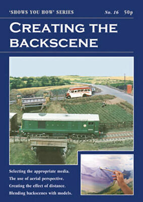 Peco No 16 Creating the Backscene Model Railway Booklet SYH16
