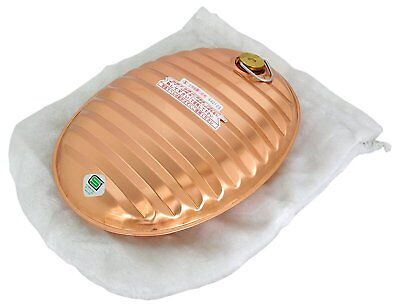 Hot Water Bottle Foot Warmer Yutampo 2.6L With Bag Japan