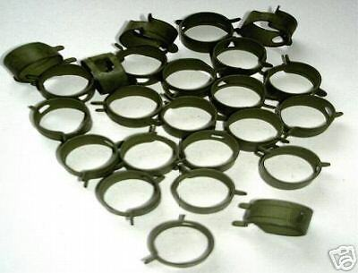 "DOUBLE WIRE SPRING HOSE CLAMPS 10 CLAMPS 17//32/"" #539"