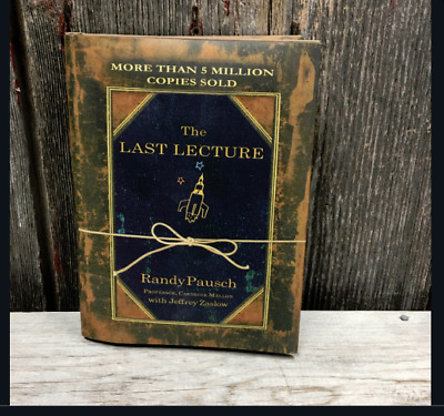 The Last Lecture by  Randy Pausch a Hardcover book FREE USA SHIPPING