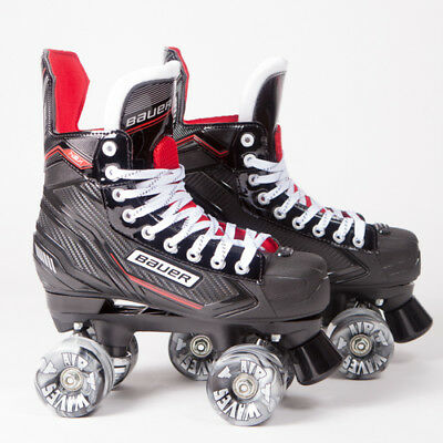 Bauer Quad Roller Skates - NSX - 2018 Model - Conversion - Airwaves