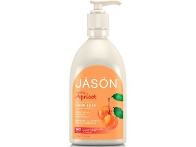 JASON Apricot Liquid Satin Soap Pump 480ml