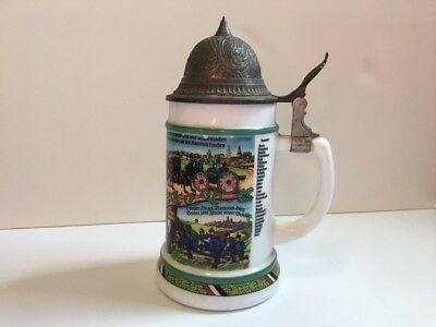 Reproduction Imperial German Regimental Stein made in West Germany