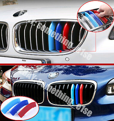 BMW 3 GT/Gran Turismo/f34,11 slat grille M power tri-colour cover/cap/clip/strip
