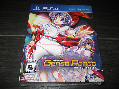 NEW Touhou Genso Rondo Bullet Ballet Limited Edition PS4 Playstation