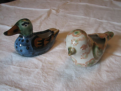 Pair M. A. Hadley bird ashtrays
