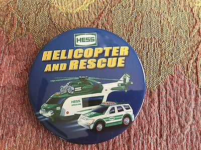 Hess 2012 Helicopter and Rescue Truck Dealer Pin