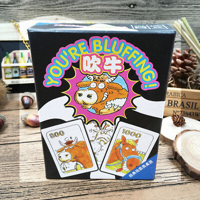 You are Bluffing Board Game for 3-5 player Liar Card Party Family Game