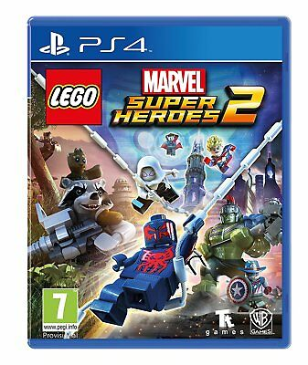 Lego Marvel Super Heroes 2 PS4 NEW SEALED DISPATCHING TODAY ALL ORDERS BY 2 P.M.