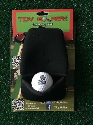 Tidy Golfer - Golf Club and Ball Cleaner - Black,