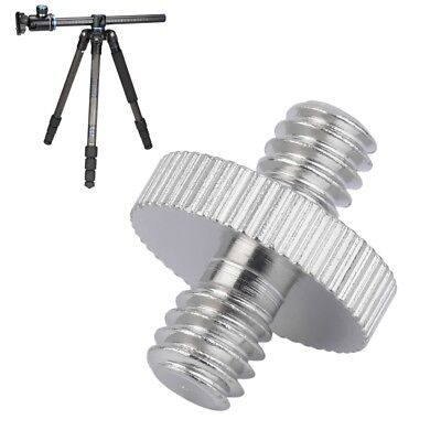 """1/4"""" Male to 1/4"""" Male Camera Screw Adapter For Tripod Mount Holder #"""