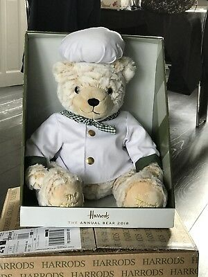 Harrods annual bear 2018 chef birthday anniversary wedding easter harrods annual bear for 2018 is the chef from the food hall negle Image collections